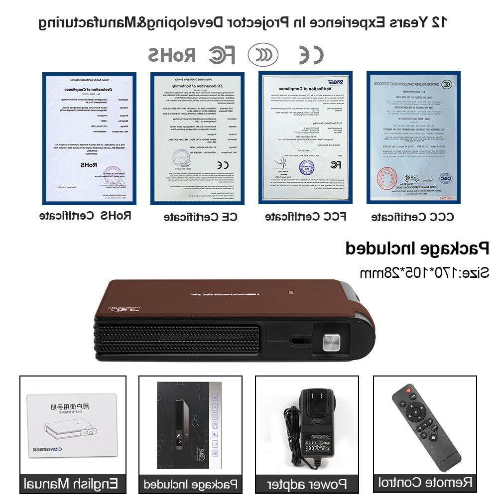 Mini Home DLP Wireless Screen