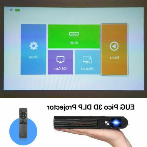Mini 1080P HD Office Portable HDMI
