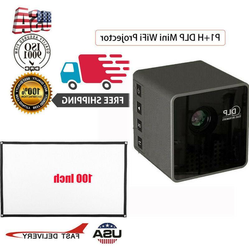 mini wifi portable projector 100 inch projector