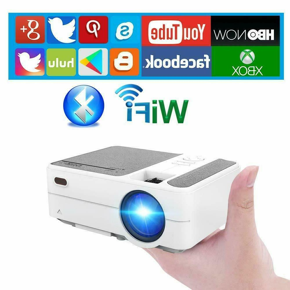 hd 3500lms mini projector android blue tooth