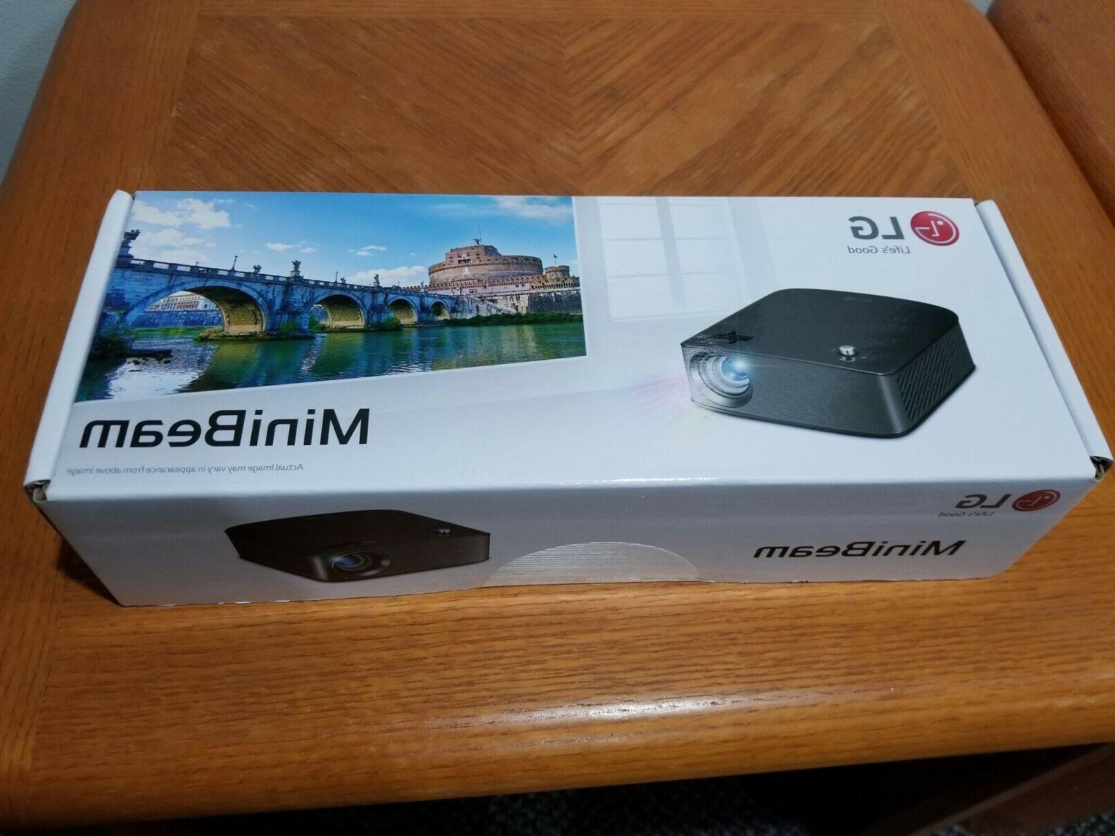 minibeam mini projector ph150b new sealed