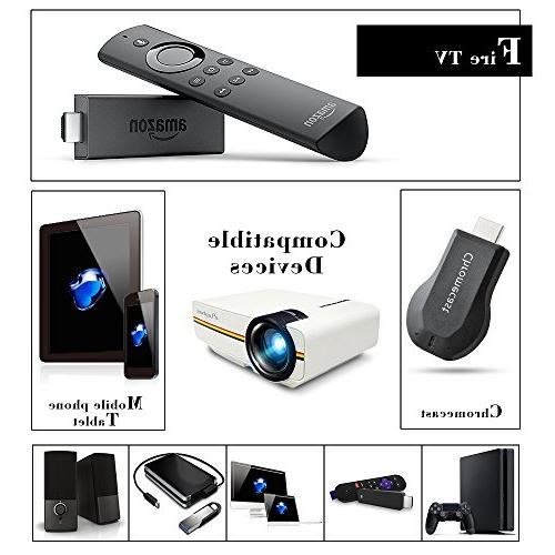 with 2018 Technology Support Portable Mini for Video Entertainment Party, White