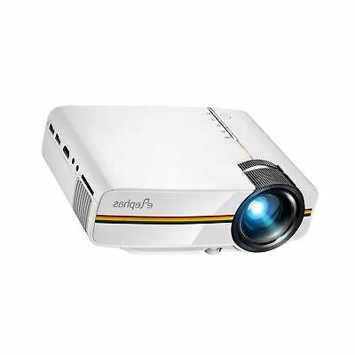 ELEPHAS LED with 2018 Updated Technology 150'' for Home Video White