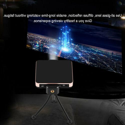 Multimedia Theater Projector HD Screen AL