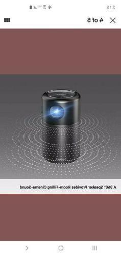 Anker Nebula Capsule, Smart Wi-Fi Projector, 100 Lumen