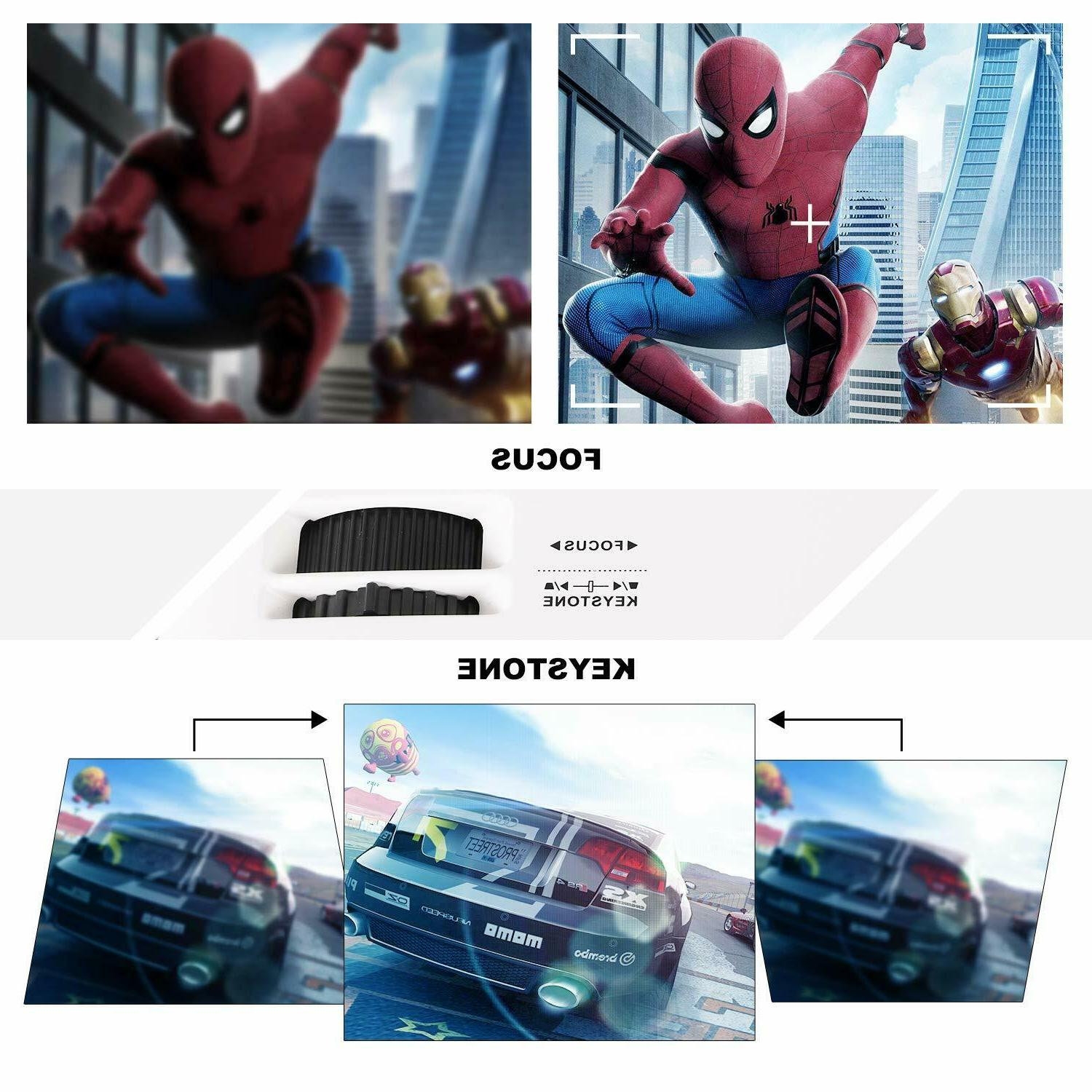NEW 2020 Full 1080P Projector