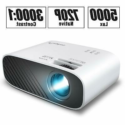 NEW ELEPHAS 2020 Movie Projector, 5000 LUX Full HD Video Projector!!!