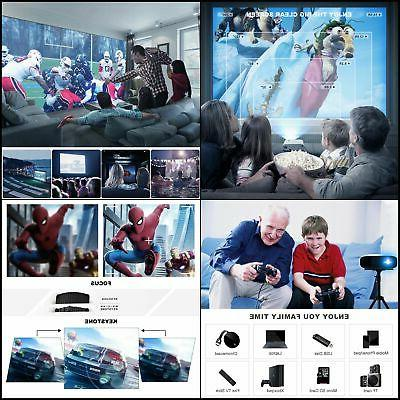 NEW 2020 Movie LUX Full 1080P Projector!!!