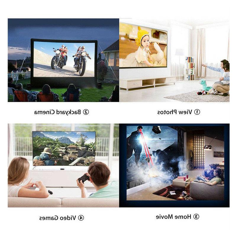 New Mini Projector Multimedia Home Projectors