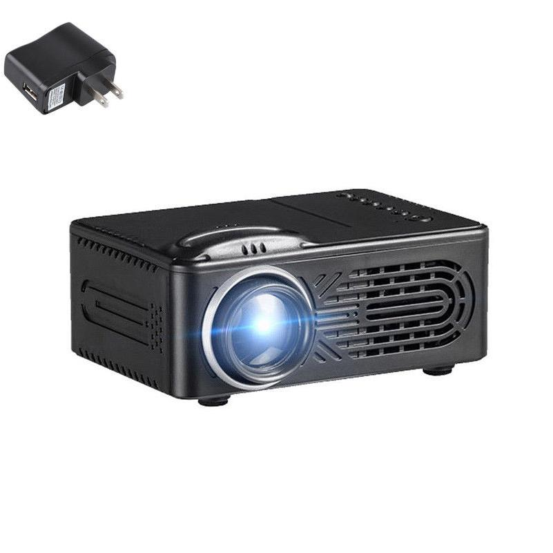New Full HD Mini Projector Home USB