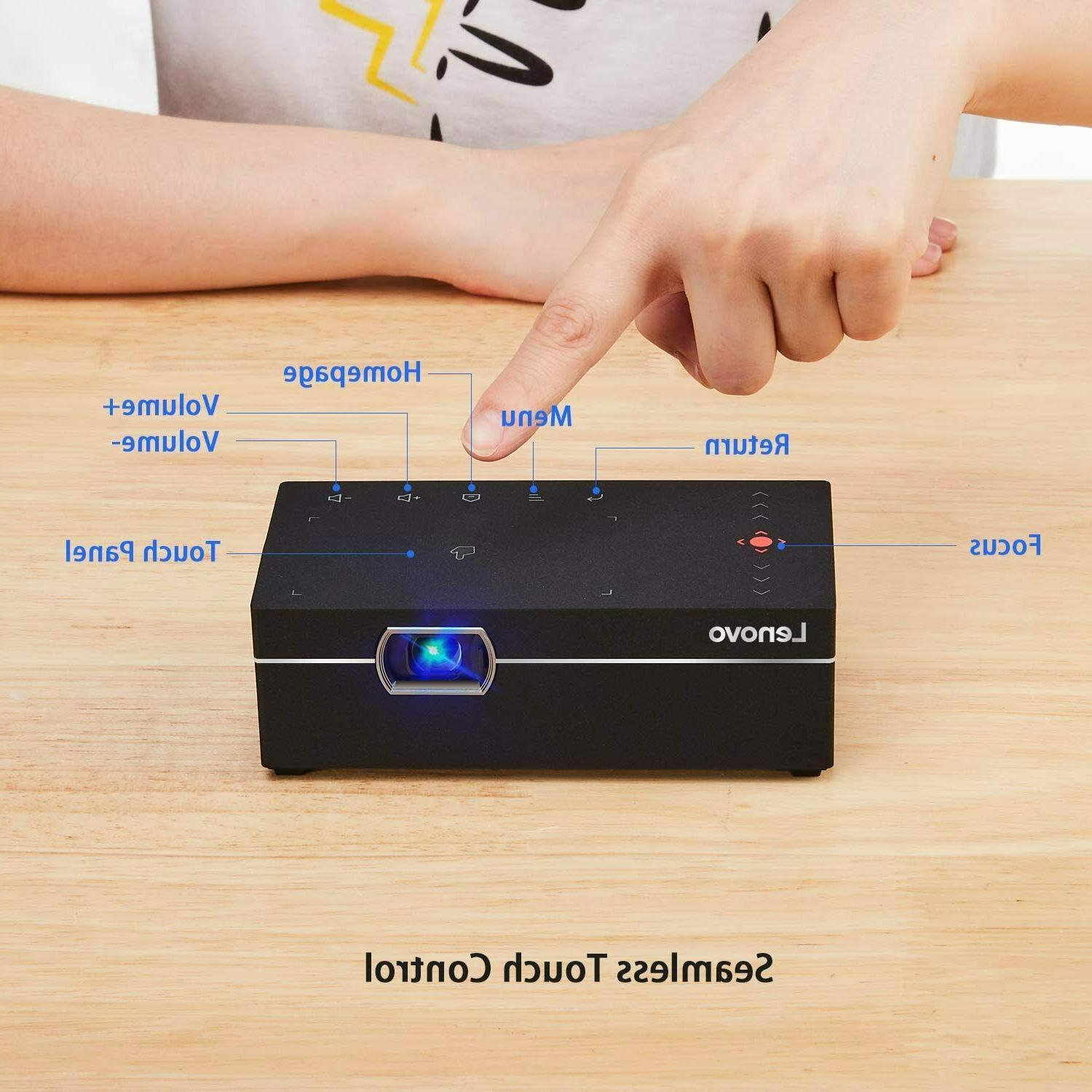 NEW Lenovo M1 Smart Mini Projector, 200 ANSI Lumens