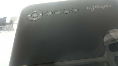 New Mini Projector, 3600 Lux Theater