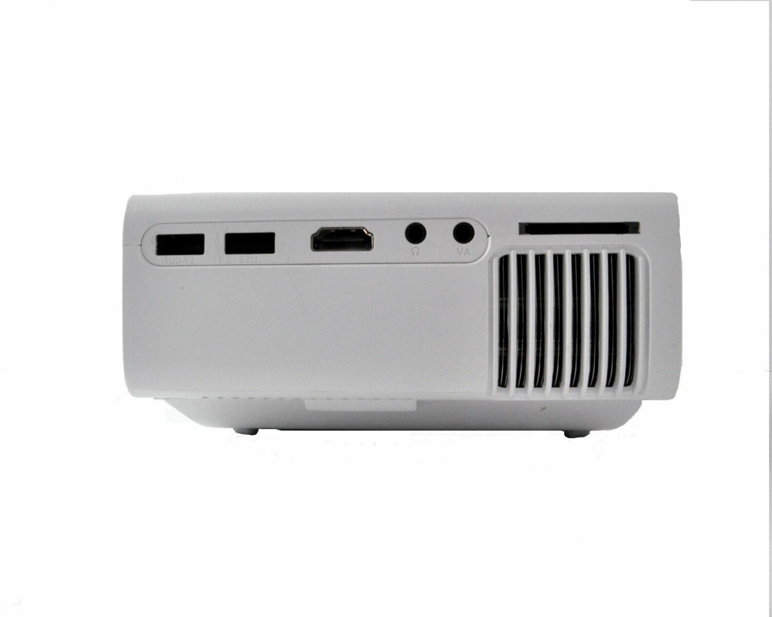 New Mini Projector Portable 1080P Indoor/Outdoor