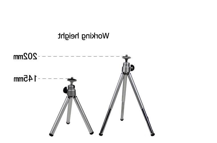 New Wholesale Camera Video <font><b>Projector</b></font> Silver Rotatable Beamer Foot
