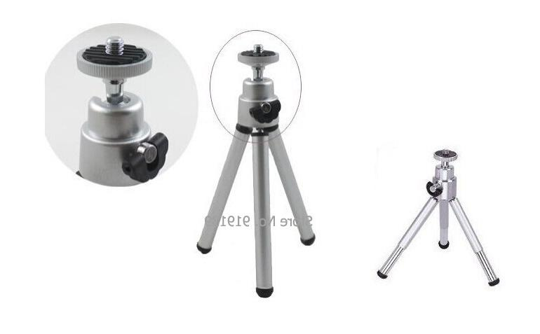 New Strtchable Tripod For Camera Video <font><b>Projector</b></font> Silver Black Foot