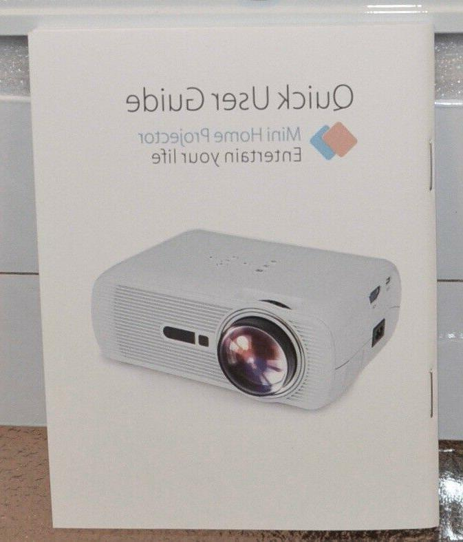 NEW Crenova video projector Full HD mini