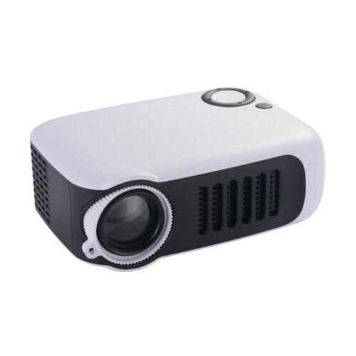 Orange/White 1080P Movie Projectors Home Theater HDMI US