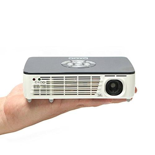 AAXA with LED, Resolution, Pocket Size, Mini-VGA, Hour LED Player, Projector