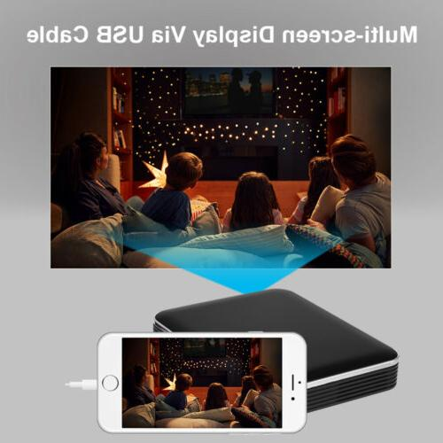 DLP WIFI Mini Pocket Multimedia 1080P IOS/Android