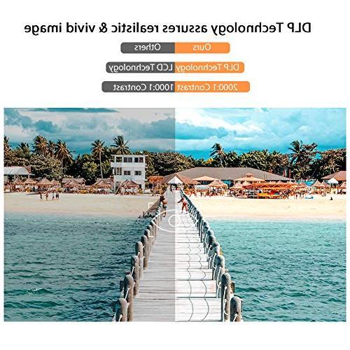 VANKYO Passport M50 Smart 100 ANSI 7.1 HDMI, Ports Keyboard Tripod