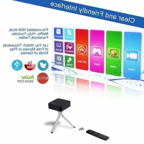 4K 3D Wifi DLP Mini Full HD 1080P HDMI USB