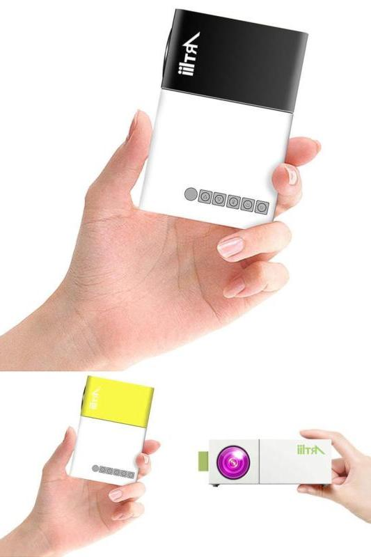 pico portable led mini projector home cinema