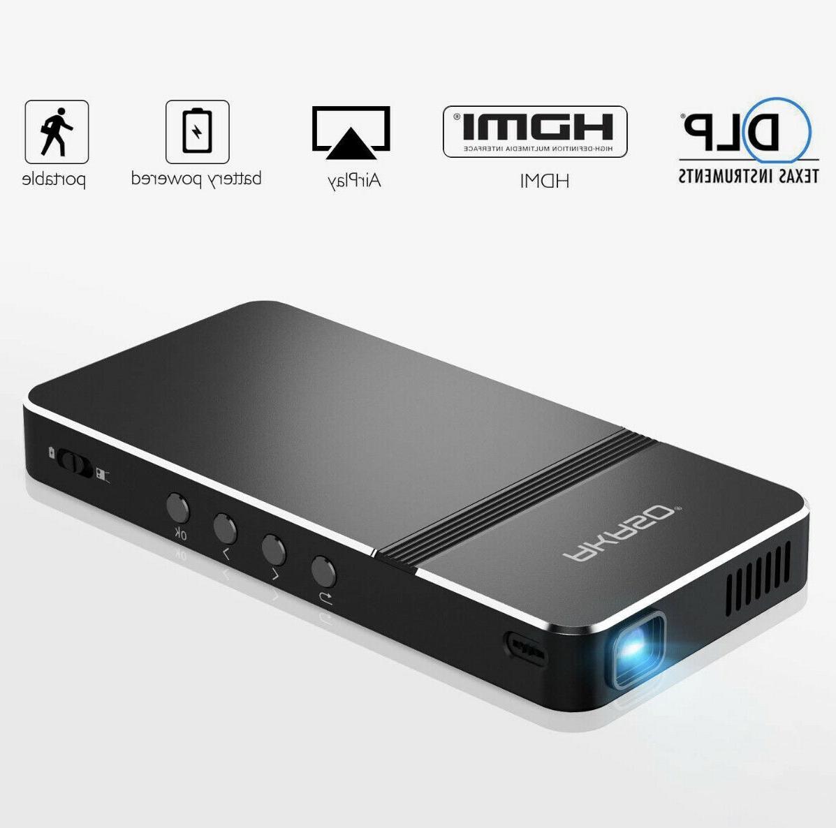pico projector mini portable 1080p hd dlp