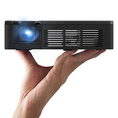 ViewSonic PLED-W600 WXGA HDMI LED Ultra-Portable Mini Projec