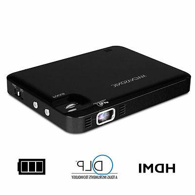 Magnasonic LED Pico Video HDMI, Battery, Speaker,