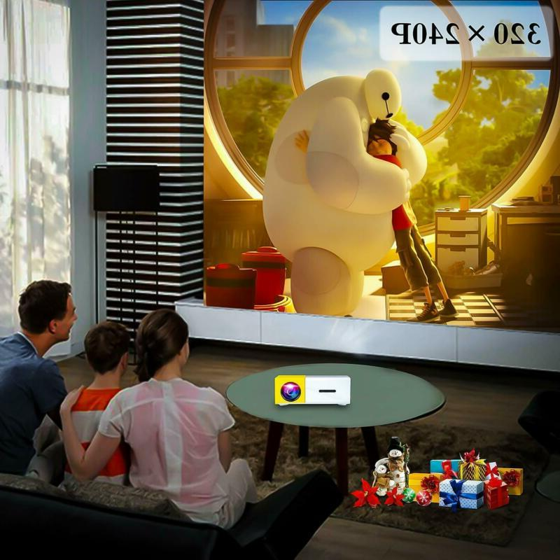 Pocket Projector Pico Projector for Laptops Smartphone Cartoon