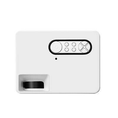 Portable 1080P Projector Mini Home USB AV Fr Outdoor