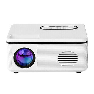 Portable HD Projector Mini Home AV Fr Outdoor L8G4