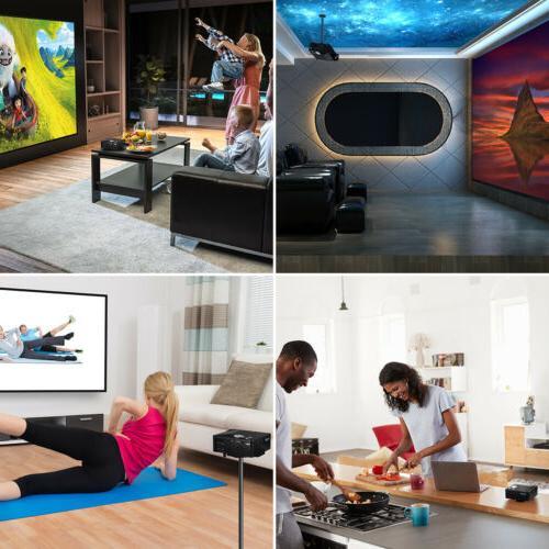 Portable Mini Projector Home Theater US