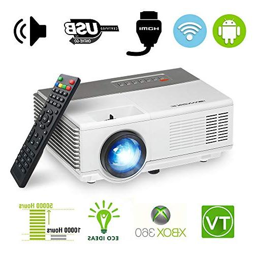 portable android wireless mini projector