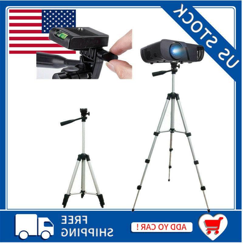 portable extendable tripod stand adjustable camera dlp