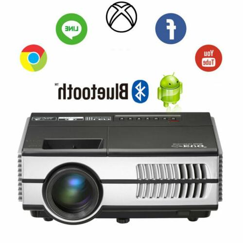portable led mini projector android wifi home
