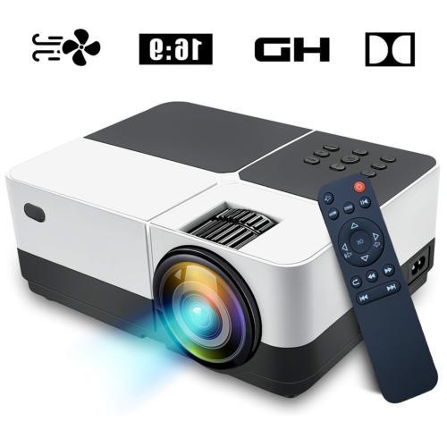 Mini LED Support HD/USB/SD/AV/TF Cinema Computer