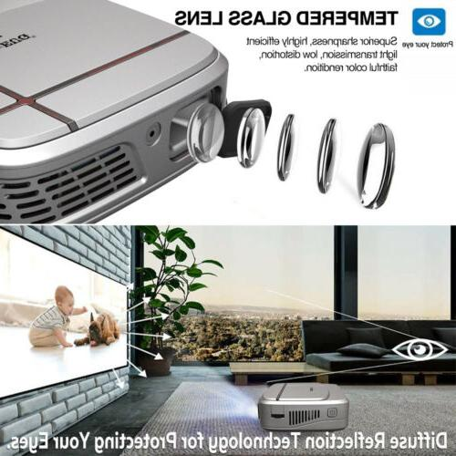 1080P Mini DLP 3D Projector Home Movie Meeting HDMI