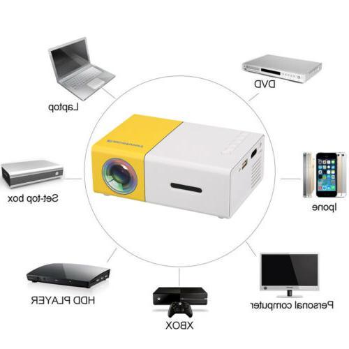 YG300 Mini Portable Smart Home Theater Projector 1080P HDMI