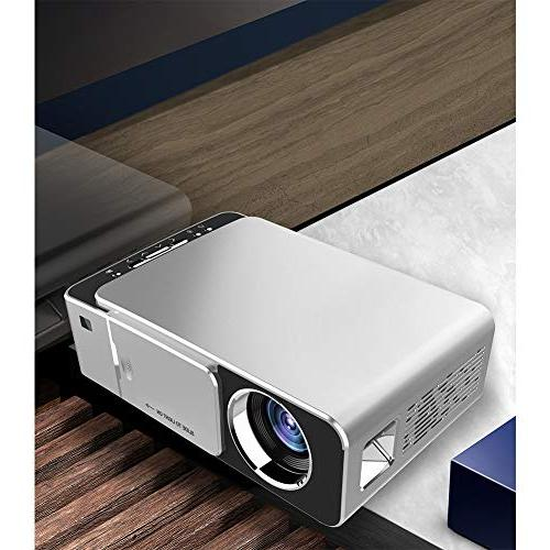 BEESCLOVER Portable Home Projector Plug