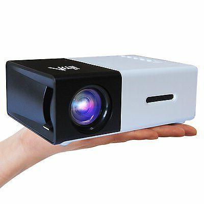 Artlii 1080P Projector USB/SD/AV/HDMI Input for TV/ Art