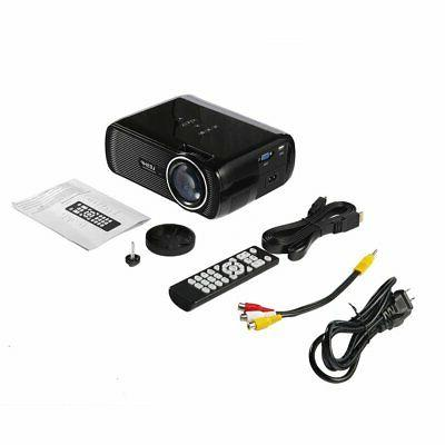 Mini LED Theater Projector 4K 1080P FHD 3D Video