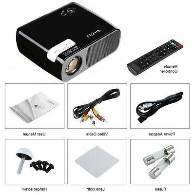 Portable LED 7000 Cinema Theater 1080P AV HT