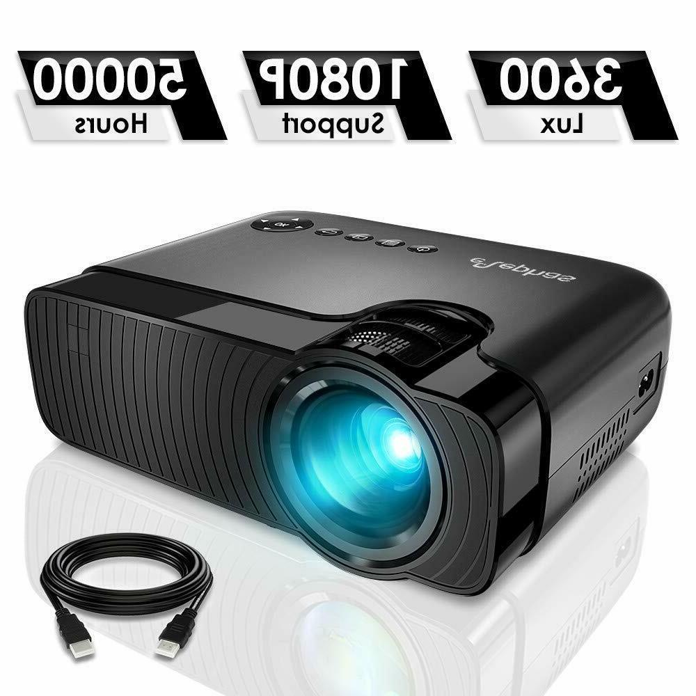 portable mini projector full hd 1080p 50000