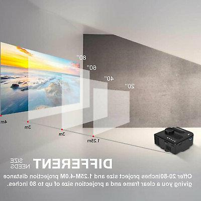 Mini Projector Movie Video Projectors Home Theater