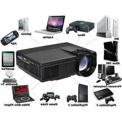 Portable Projector 1080P Home HDMI