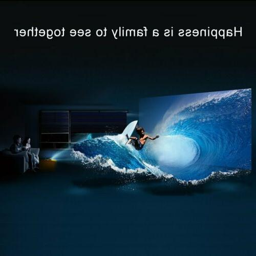 Portable Mini 1080P Home Theater Video Movie 3D LED HDMI USB