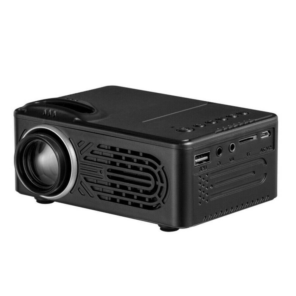 Portable LED 1080P Mini USB HDMI TV Theater US