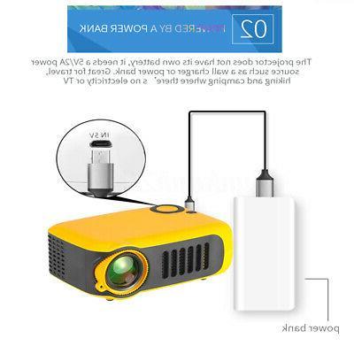Portable HD 1080P Home Video Movie