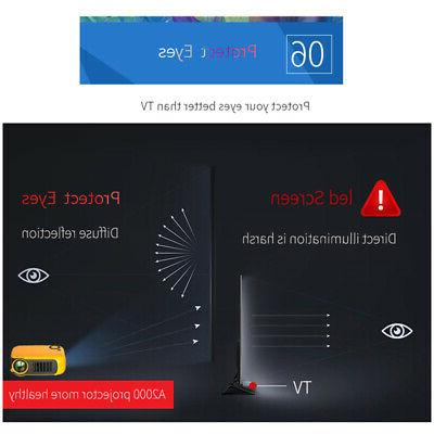 Portable 1080P Home Theater Video Movie